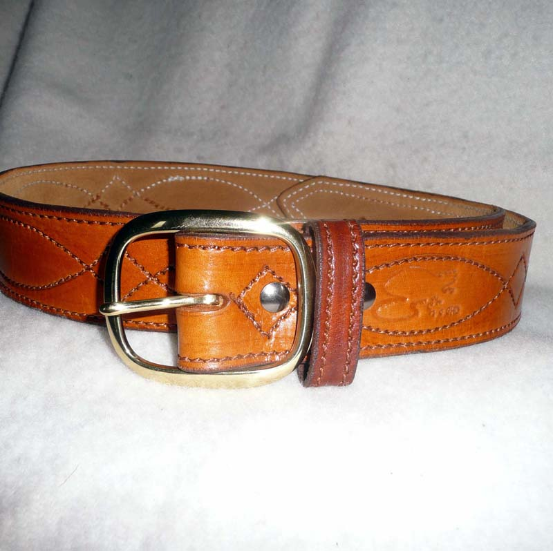 "Leather Mark ""Reversible Tactical/Dress Belt"" //beavermountainworks.com"