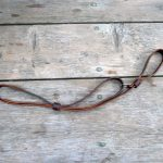 "Leather Mark Rifle Sling ""Jaeger"" http://beavermountainworks.com"