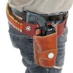 "Single Holster Rig ""Ranger Star"" by Beaver Mountain Works - You dream it, we make it"