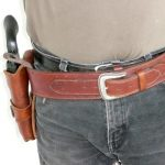 """Single Holster Rig """"Ranger Star"""" by Beaver Mountain Works - You dream it, we make it"""