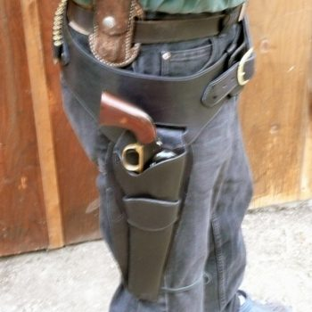 """Single Holster Rig """"Desperado"""" by Beaver Mountain Works - You dream it, we make it"""