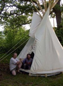 You dream it we make it! Custom handmade Tipi by BeaverMountainWorks.com
